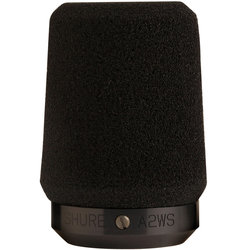 Shure A2WS-BK Locking Microphone Windscreen - Black