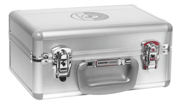 View larger image of Shure A353SC Aluminum Carrying Case