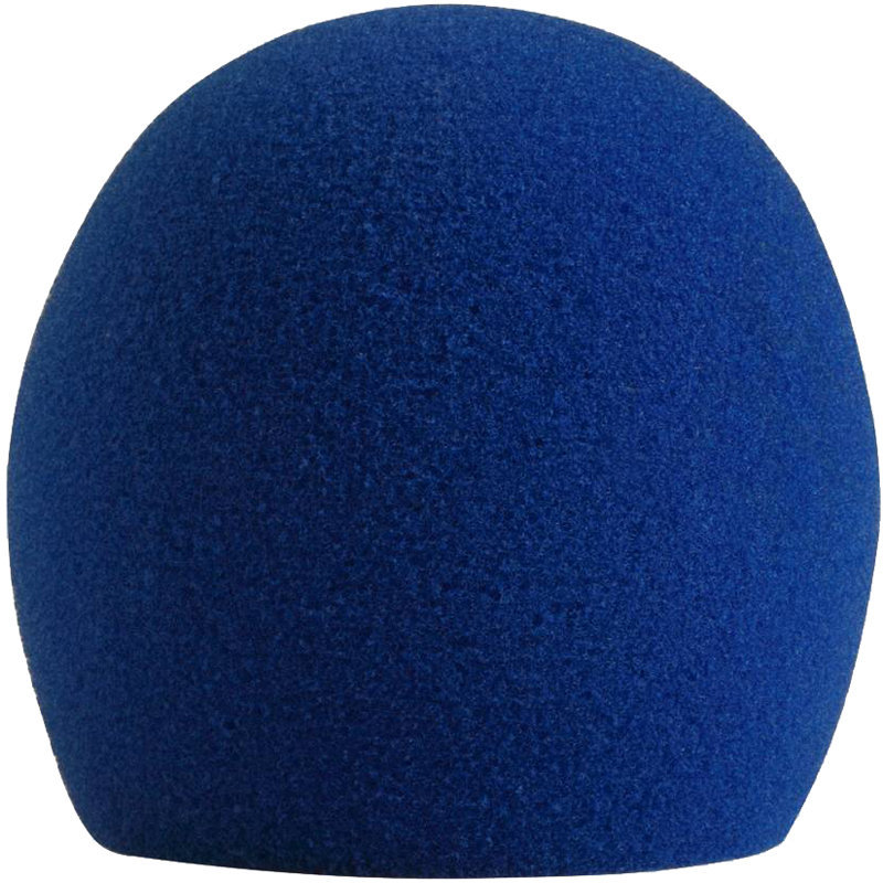 View larger image of Shure A58WS Microphone Windscreen - Blue