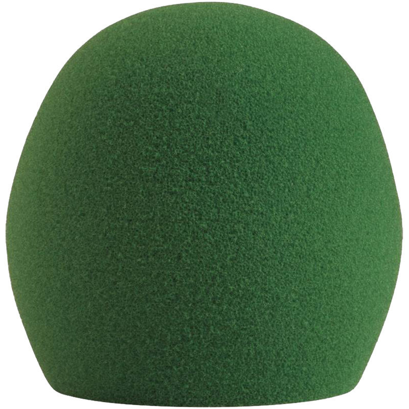 View larger image of Shure A58WS Microphone Windscreen - Green