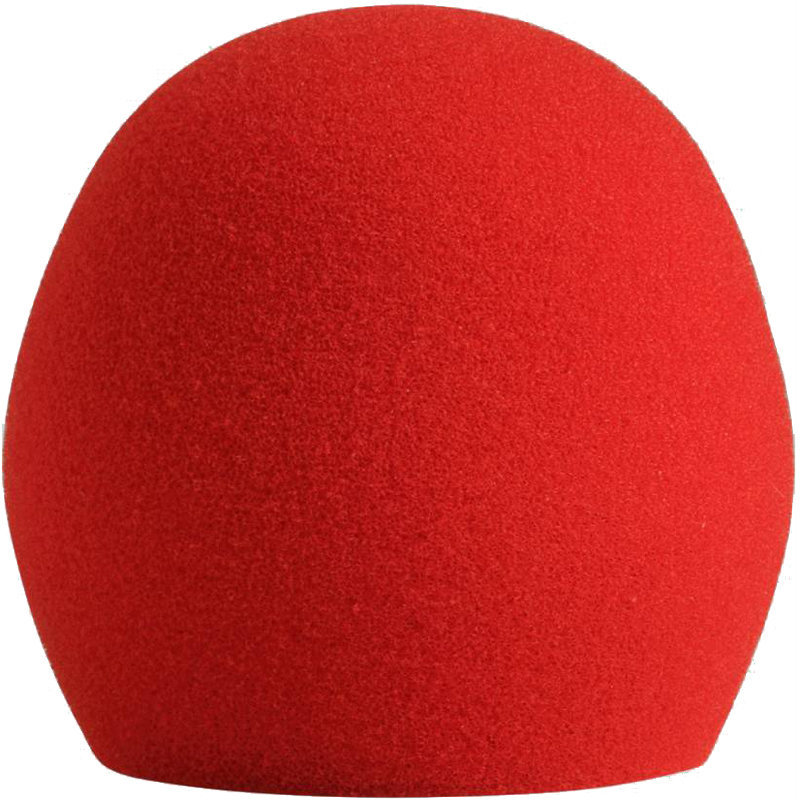 View larger image of Shure A58WS Microphone Windscreen - Red