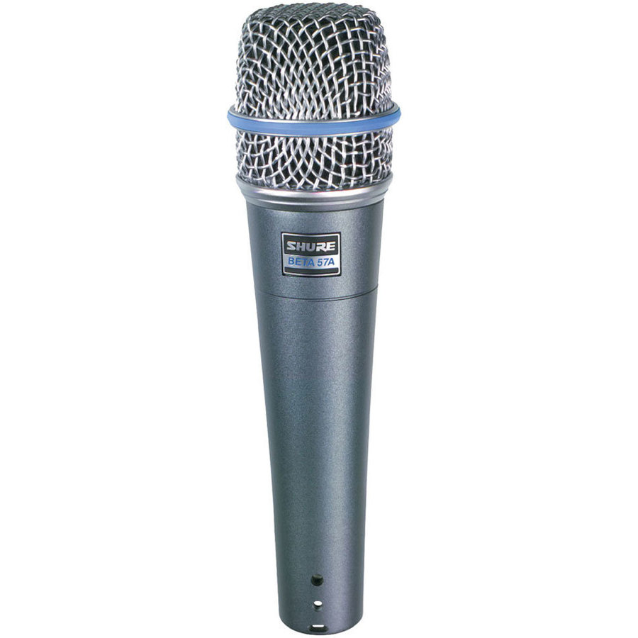 View larger image of Shure Beta 57A Supercardioid Dynamic Microphone