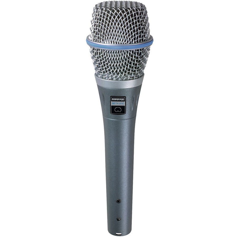 View larger image of Shure Beta 87C Cardioid Condenser Microphone