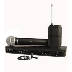 Shure BLX1288/CVL Wireless Mic System - J10 Frequency