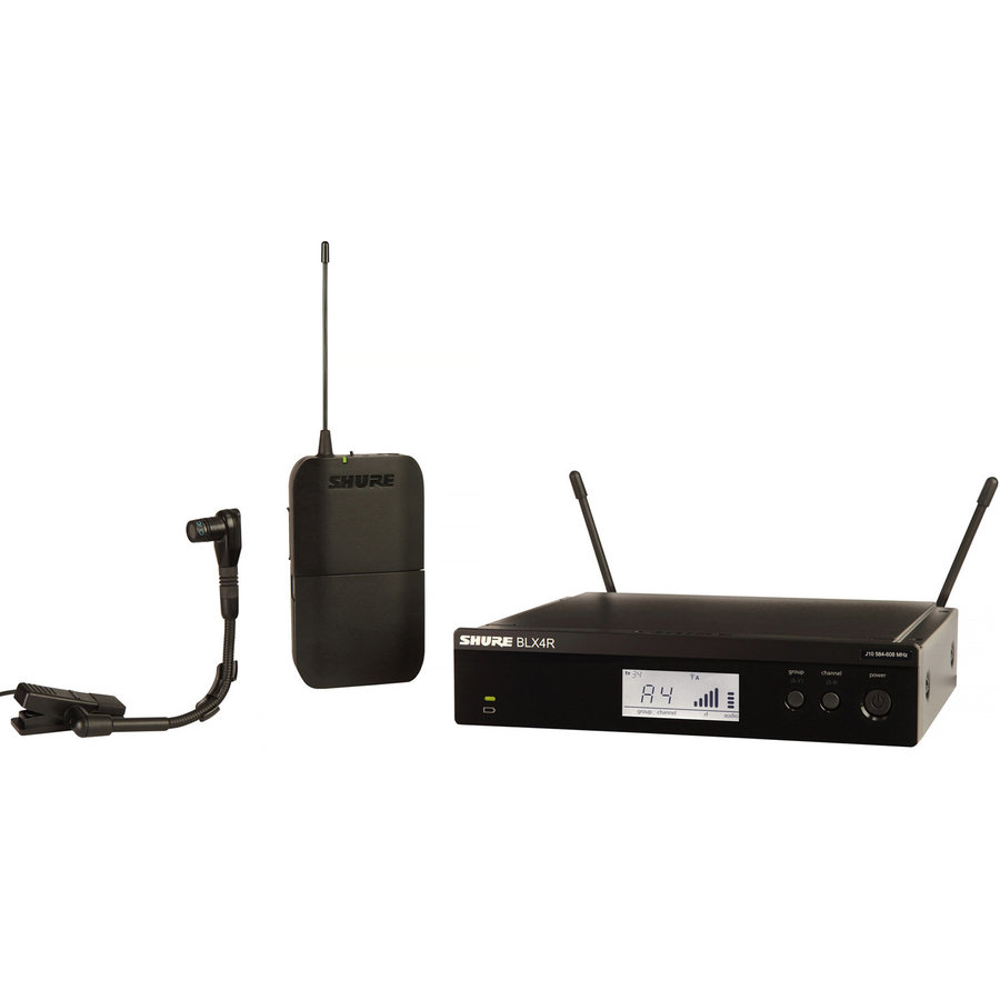 View larger image of Shure BLX14R/B98 Wireless Instrument System - H9 Band