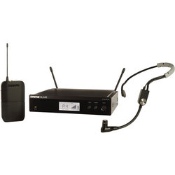 Shure BLX14R/SM35 Wireless Rack-Mount Headset System - H10 Band