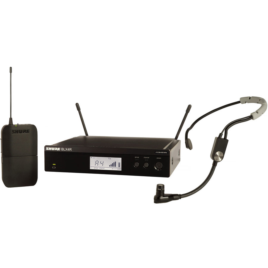 View larger image of Shure BLX14R/SM35 Wireless Rack-Mount Headset System - H9 Band