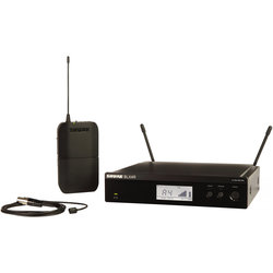 Shure BLX14R/W93 Wireless Lavalier Microphone System - H10 Band