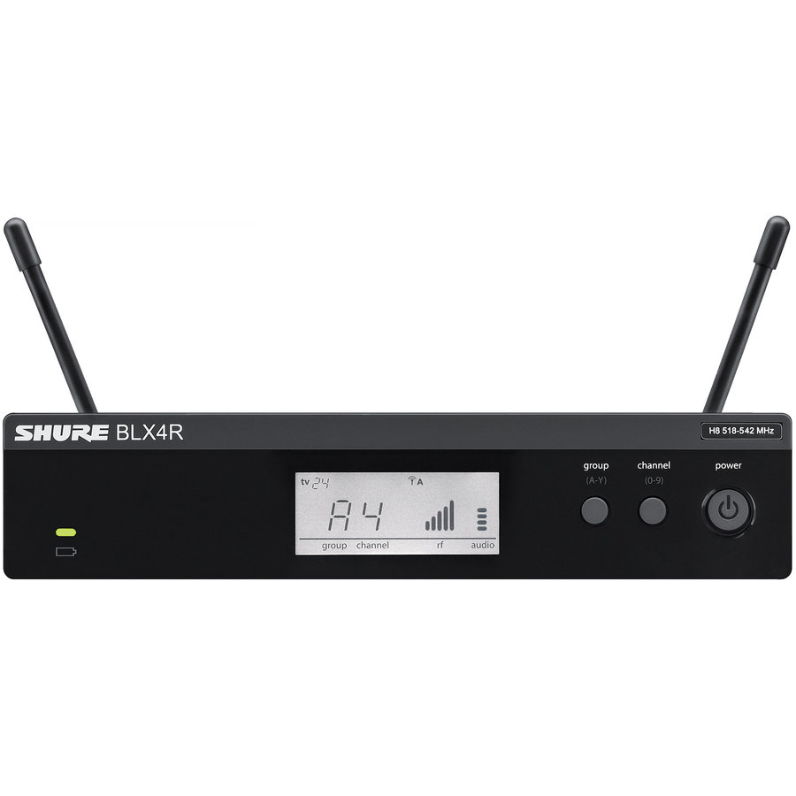 View larger image of Shure BLX14R/W93 Wireless Lavalier Microphone System - H9 Band
