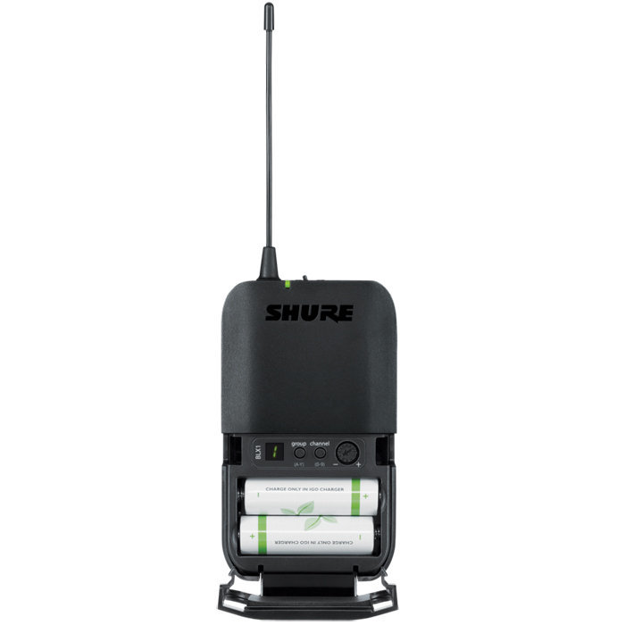 View larger image of Shure BLX188/CVL Dual Lavalier Wireless System - H10 Band