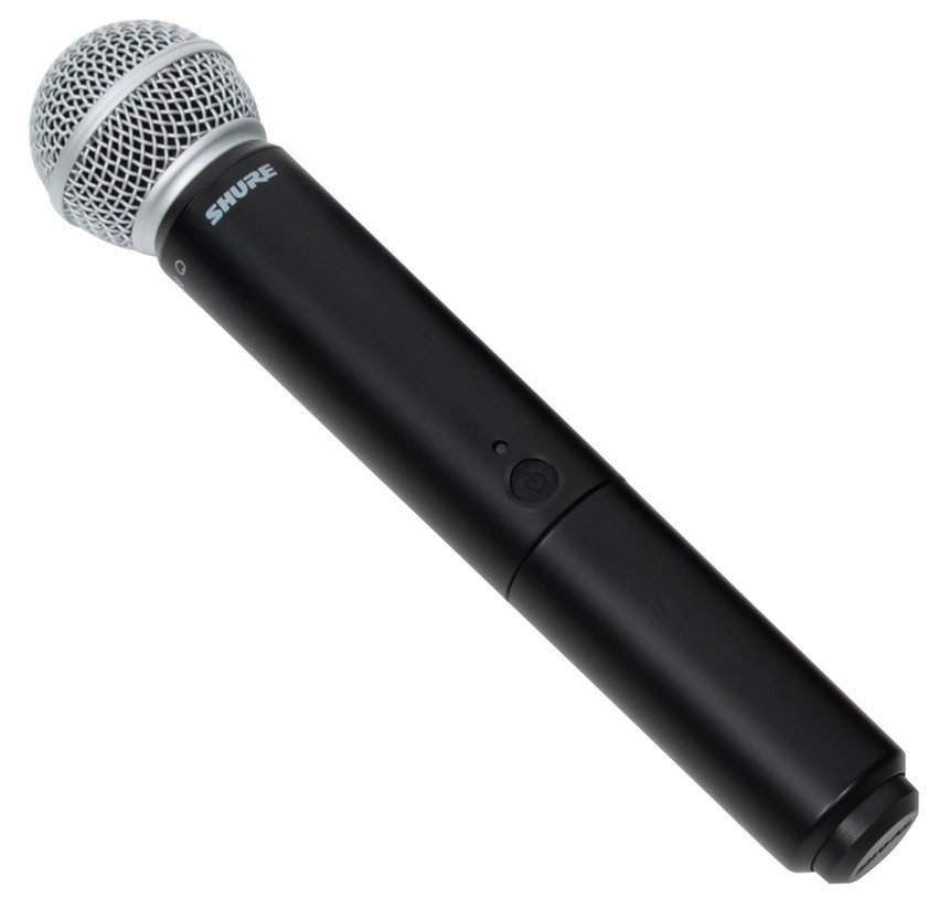 View larger image of Shure BLX2/SM58 = H9 Handheld Wireless Microphone