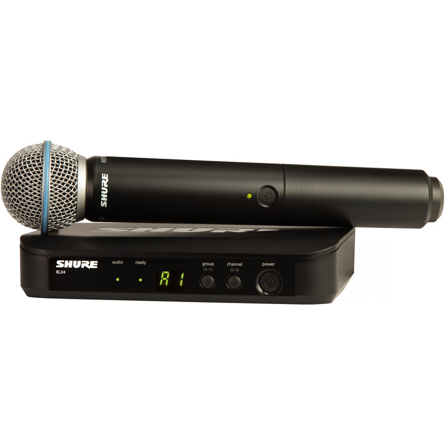 View larger image of Shure BLX24/B58 Wireless Vocal System with Beta 58A - H9 Band