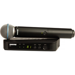 Shure BLX24/B58 Wireless Vocal System with Beta 58A - H9 Band