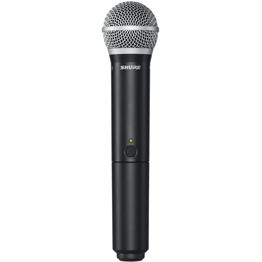View larger image of Shure BLX24/PG58 Wireless Handheld Microphone System - H10 Band