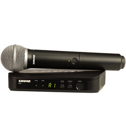 Shure BLX24/PG58 Wireless Handheld Microphone System - H9 Band