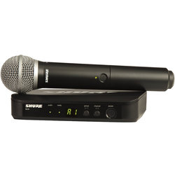 Shure BLX24/SM58 Wireless Handheld Microphone System - H9 Band