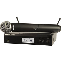 Shure BLX24R/SM58 Wireless Handheld Microphone System - H10 Band