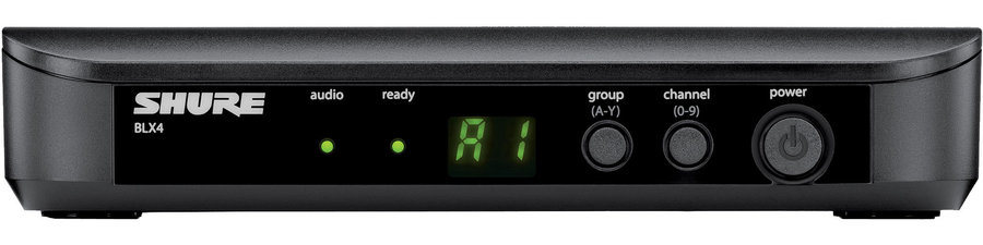 View larger image of Shure BLX4 Wireless Single Channel Receiver - H9