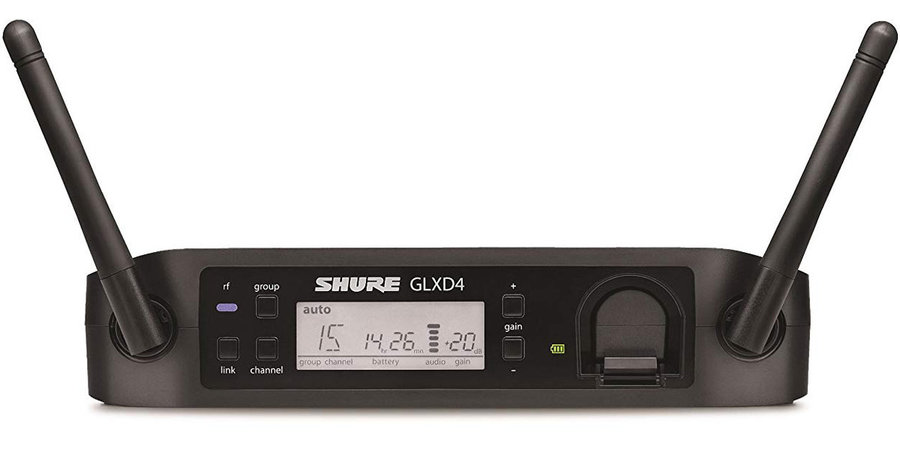 View larger image of Shure GLXD-Z2 Wireless Reciever with PS42 Wave Antennas