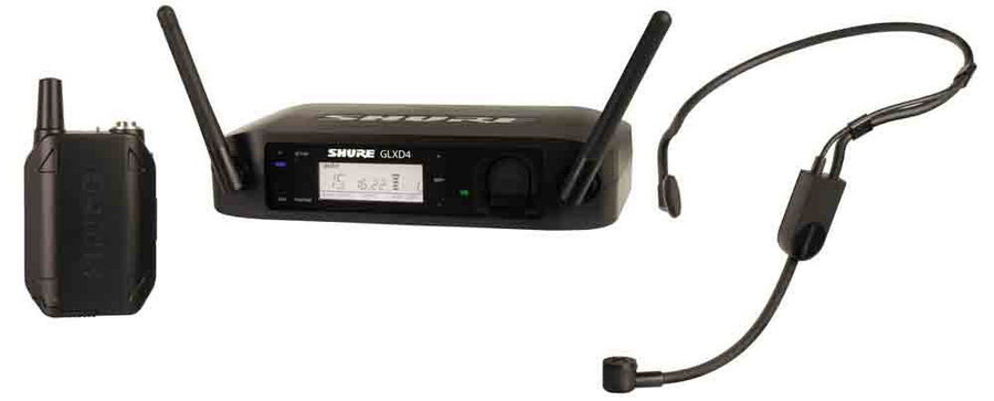 View larger image of Shure GLXD14/PGA31 Wireless Mic System - Z2 Frequency