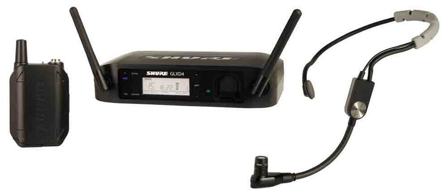 View larger image of Shure GLXD14/SM35 Wireless Mic System - Z2 Frequency