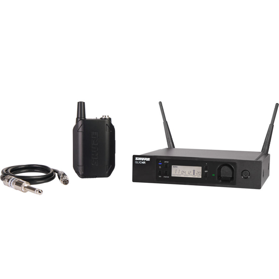 View larger image of Shure GLXD14R Digital Wireless Guitar System