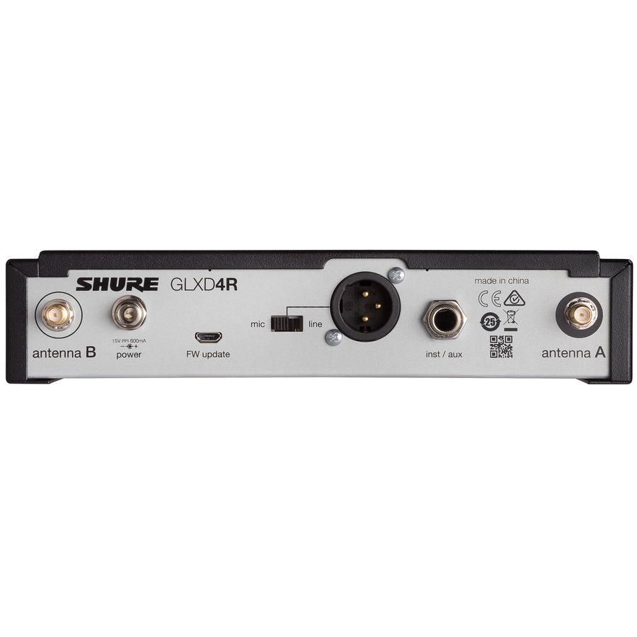 View larger image of Shure GLXD14R/MX53-Z2 Wireless Headworn Microphone System - Z2 Band
