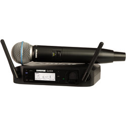 Shure GLXD24/BETA58A Handheld Wireless System - Z2 Frequency