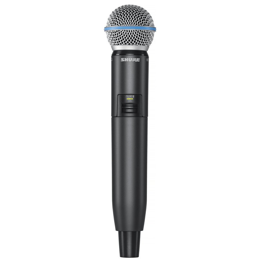 View larger image of Shure GLXD24R/B58 Digital Wireless Handheld Microphone System