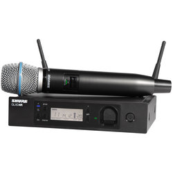 Shure GLXD24R/B87A Digital Wireless Handheld Microphone System