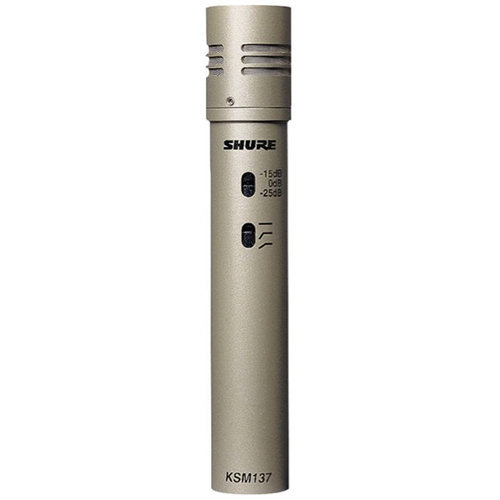 View larger image of Shure KSM137/SL Instrument Microphone