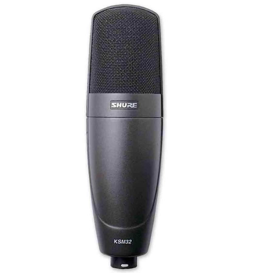 View larger image of Shure KSM32/CG Embossed Single-Diaphragm Condenser Microphone