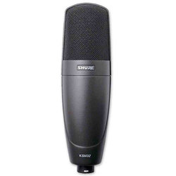 Shure KSM32/CG Embossed Single-Diaphragm Condenser Microphone
