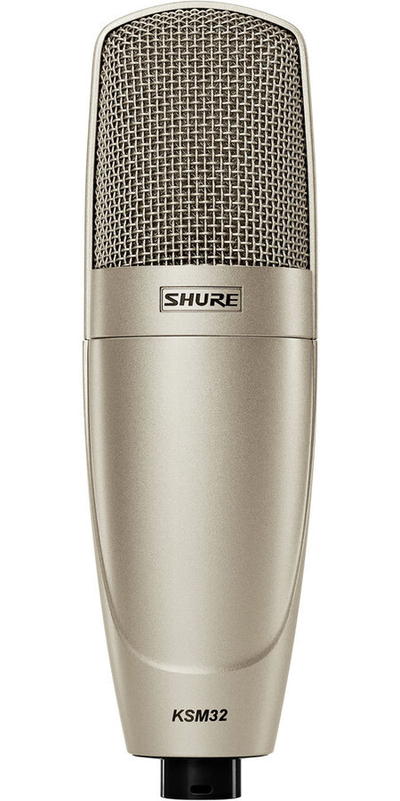 View larger image of Shure KSM32/SL Embossed Single-Diaphragm Condenser Microphone