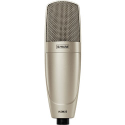 Shure KSM32/SL Embossed Single-Diaphragm Condenser Microphone