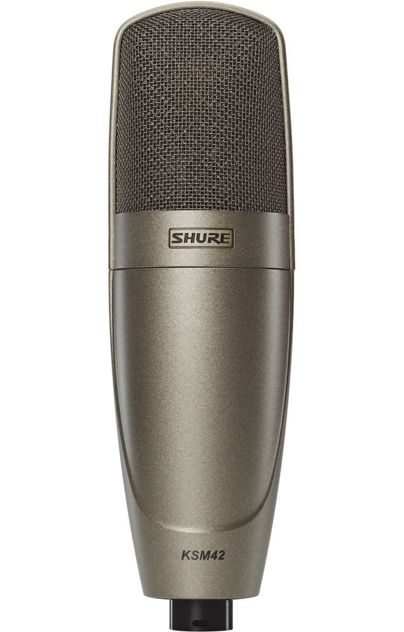 View larger image of Shure KSM42 Large Dual-Diaphragm Condenser Microphone