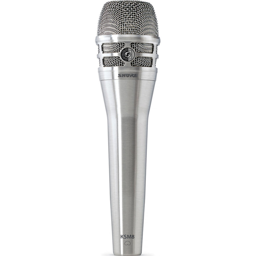 View larger image of Shure KSM8 Dualdyne Vocal Microphone - Nickel