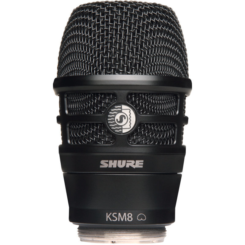 View larger image of Shure KSM8 Wireless Microphone Capsule