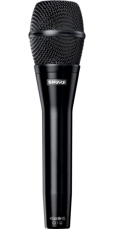 View larger image of Shure KSM9HS Handheld Vocal Microphone