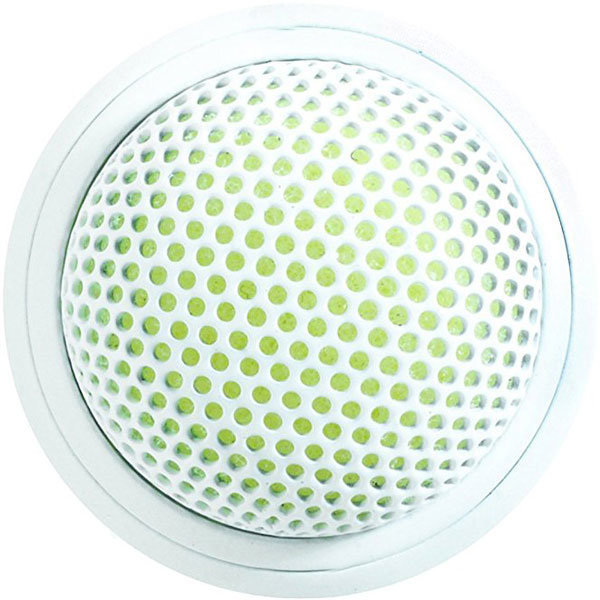 View larger image of Shure MX395 Omnidirectional Mini Boundary Microphone - White