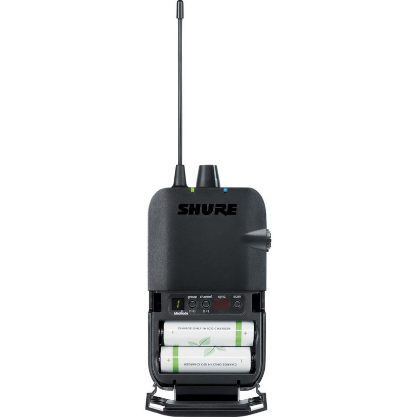 View larger image of Shure P3R Wireless Bodypack Receiver - J13 Band