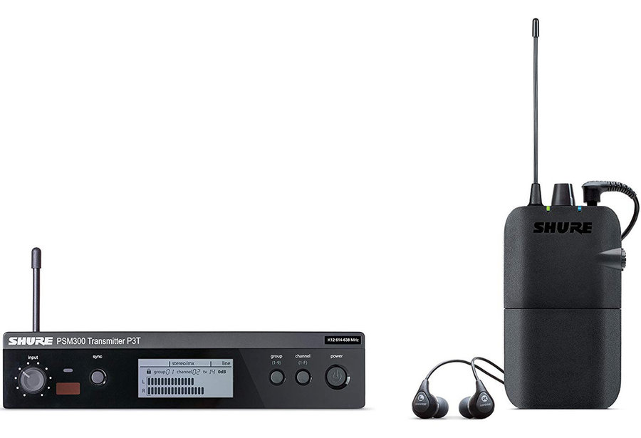 View larger image of Shure P3TR112GR-J13 Wireless In-Ear Monitor System