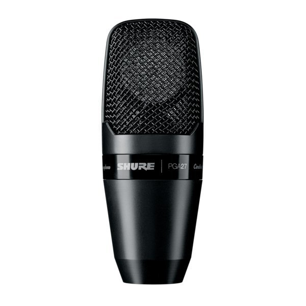 View larger image of Shure PGA27-LC Large Diaphragm Side-Address Cardioid Condenser Microphone
