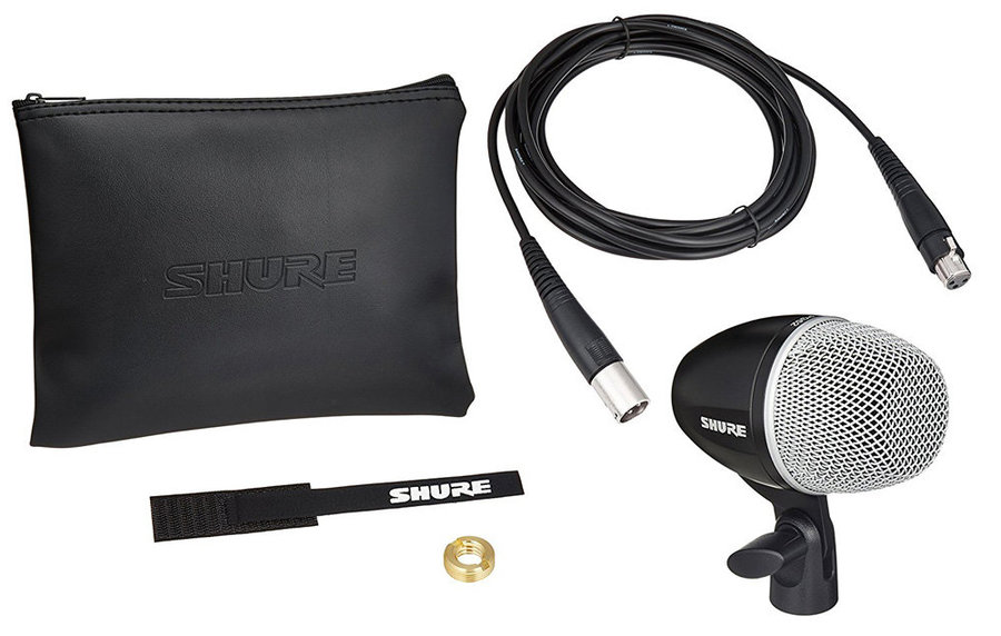 View larger image of  Shure PGA52-XLR Cardioid Dynamic Kick Drum Microphone