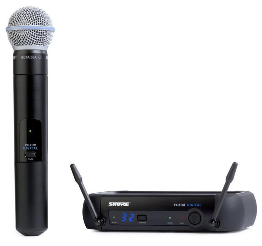 View larger image of Shure PGX Digital Wireless System with BETA58A