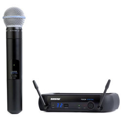 Shure PGX Digital Wireless System with BETA58A