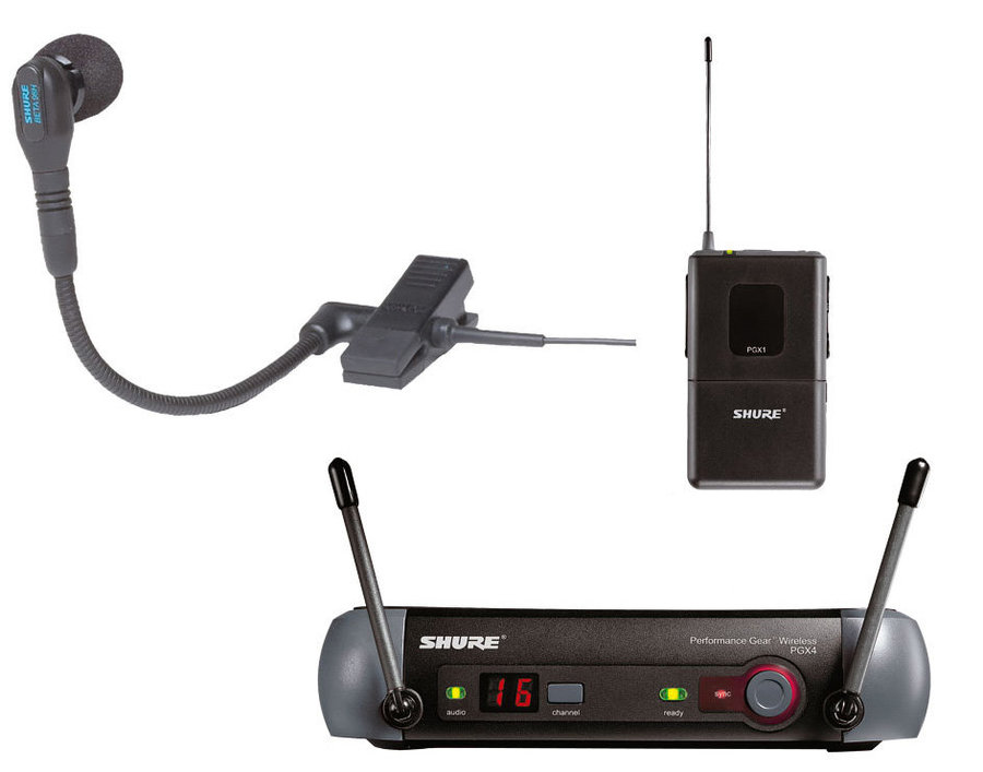 View larger image of Shure PGXD14/BETA98H-X8 PGX Digital Wireless Instrument System with WB98H