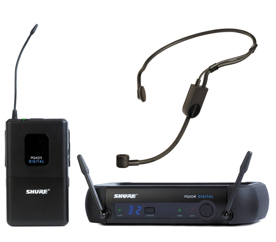View larger image of Shure PGXD14-X8 PGX Digital Wireless Guitar / Bass System with WA302