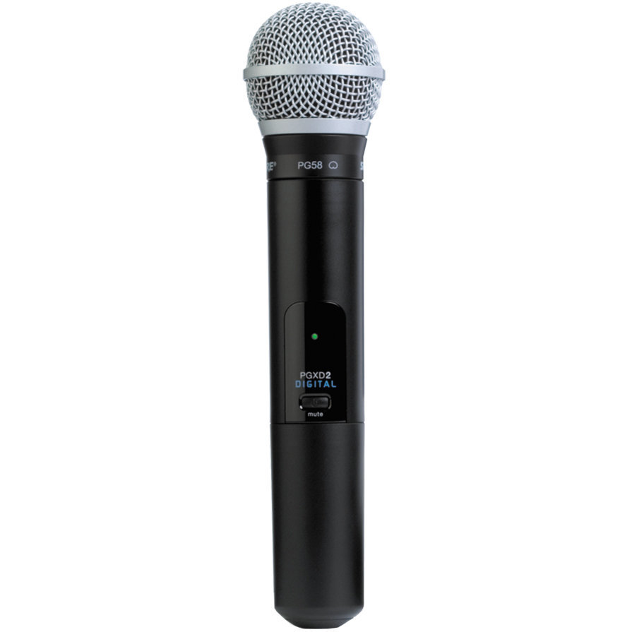 View larger image of Shure PGXD2/PG58 Wireless Handheld Microphone Transmitter - X8 Band