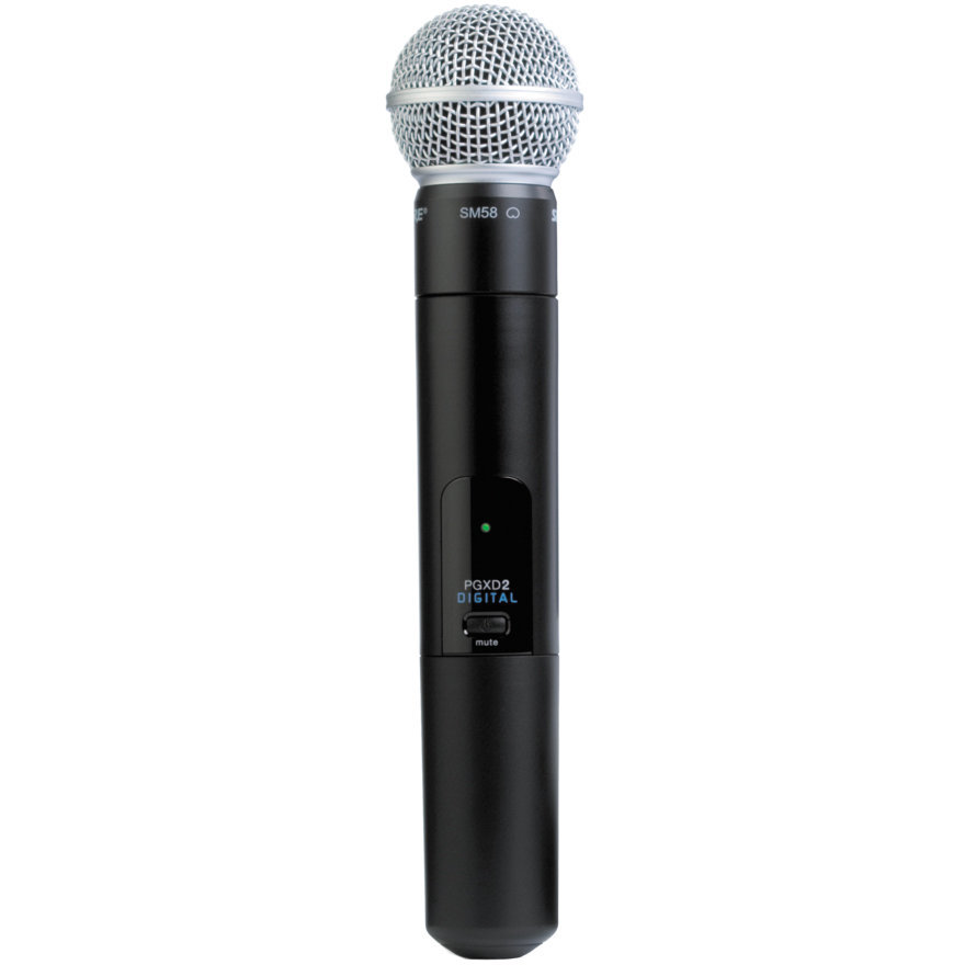 View larger image of Shure PGXD2/SM58 Wireless Handheld Microphone Transmitter - X8 Band